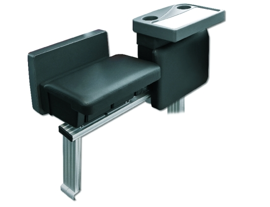 Tisch-/Beinauflagen-Kombination - Table/Leg rests, electrically adjustable